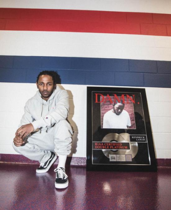 Kendrick Lamar's 'DAMN.' Album Certified Double Platinum