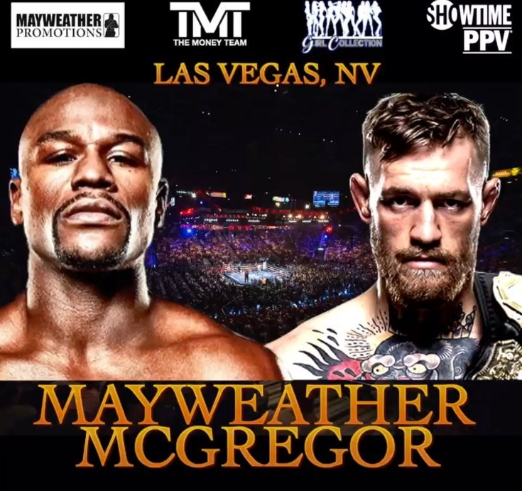 Conor McGregor Vs. Floyd Mayweather Fight To Be Shown In Movie Theaters