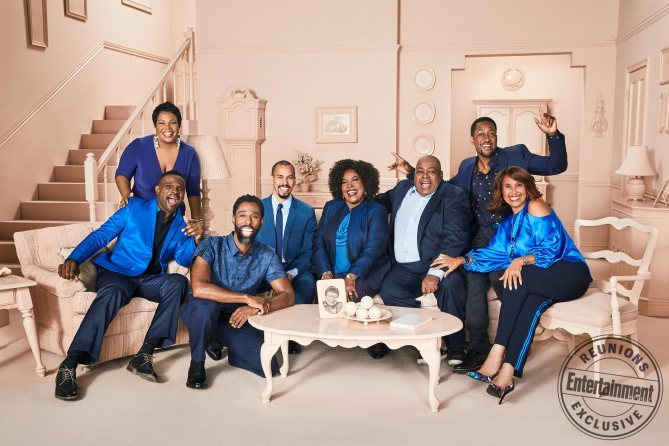 The Cast of 'Family Matters' Reunites For Photo Shoot (Photos + Video)