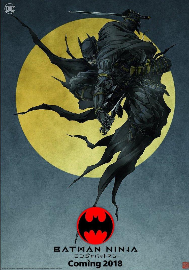 New Poster Art and Details for the Batman Ninja Anime Film