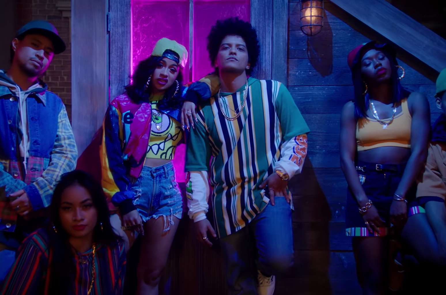 "Bruno Mars & Cardi B Drop Visuals for ""Finesse"" (Music Video"