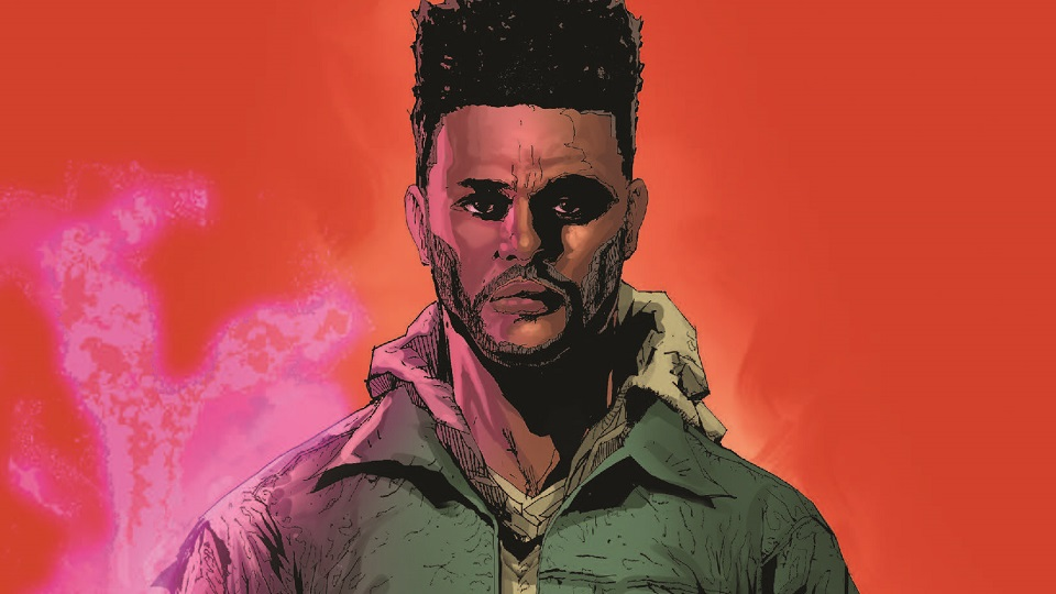 "Marvel reveals original story details on The Weeknd's upcoming comic ""Starboy"""