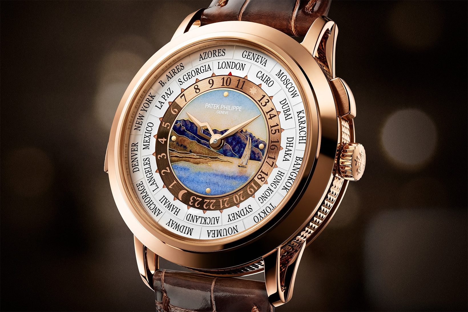 Patek Philippe's $540K USD World Time Minute Repeater 5513R Joins the Regular Collection