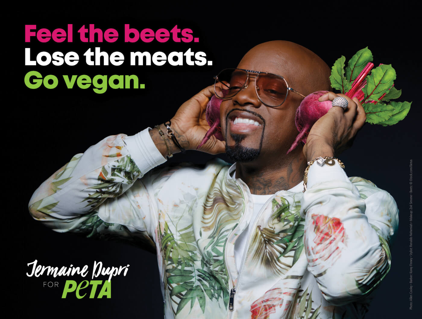 Jermaine Dupri Wants You to 'Feel the Beets' in New PETA Video