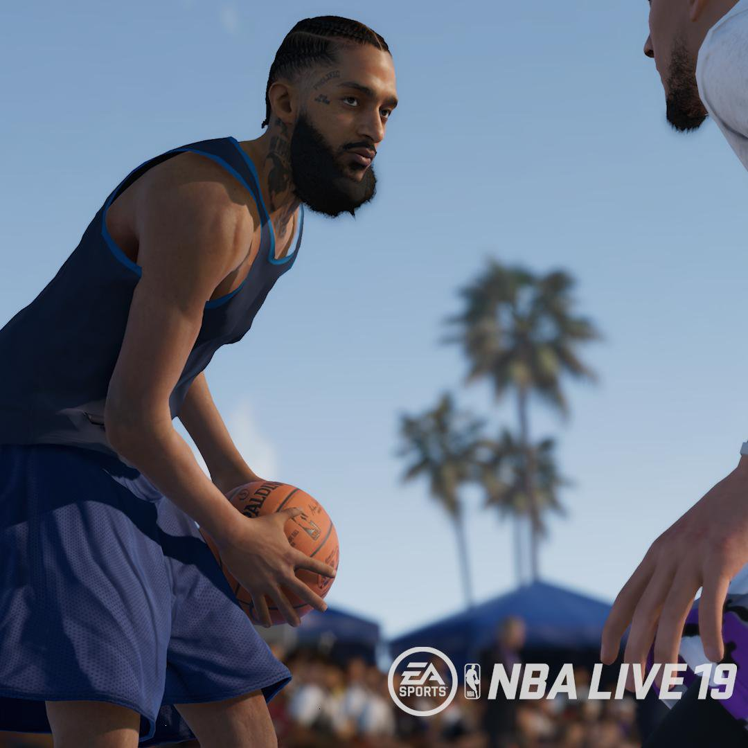NBA Live 19 Adds Nipsey Hussle As Playable Character