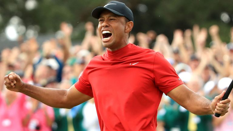 Tiger Woods Wins Masters for 5th Time, First Time Since 2005