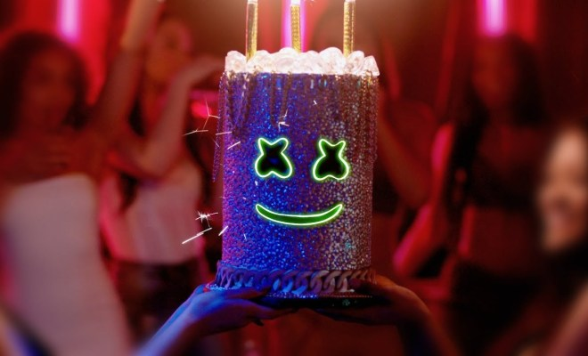 "Marshmello drops new video for ""Light It Up"" feat. Tyga & Chris Brown"
