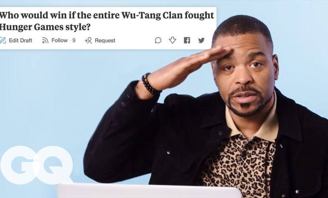 Method Man Goes Undercover on Reddit, Twitter and YouTube   GQ