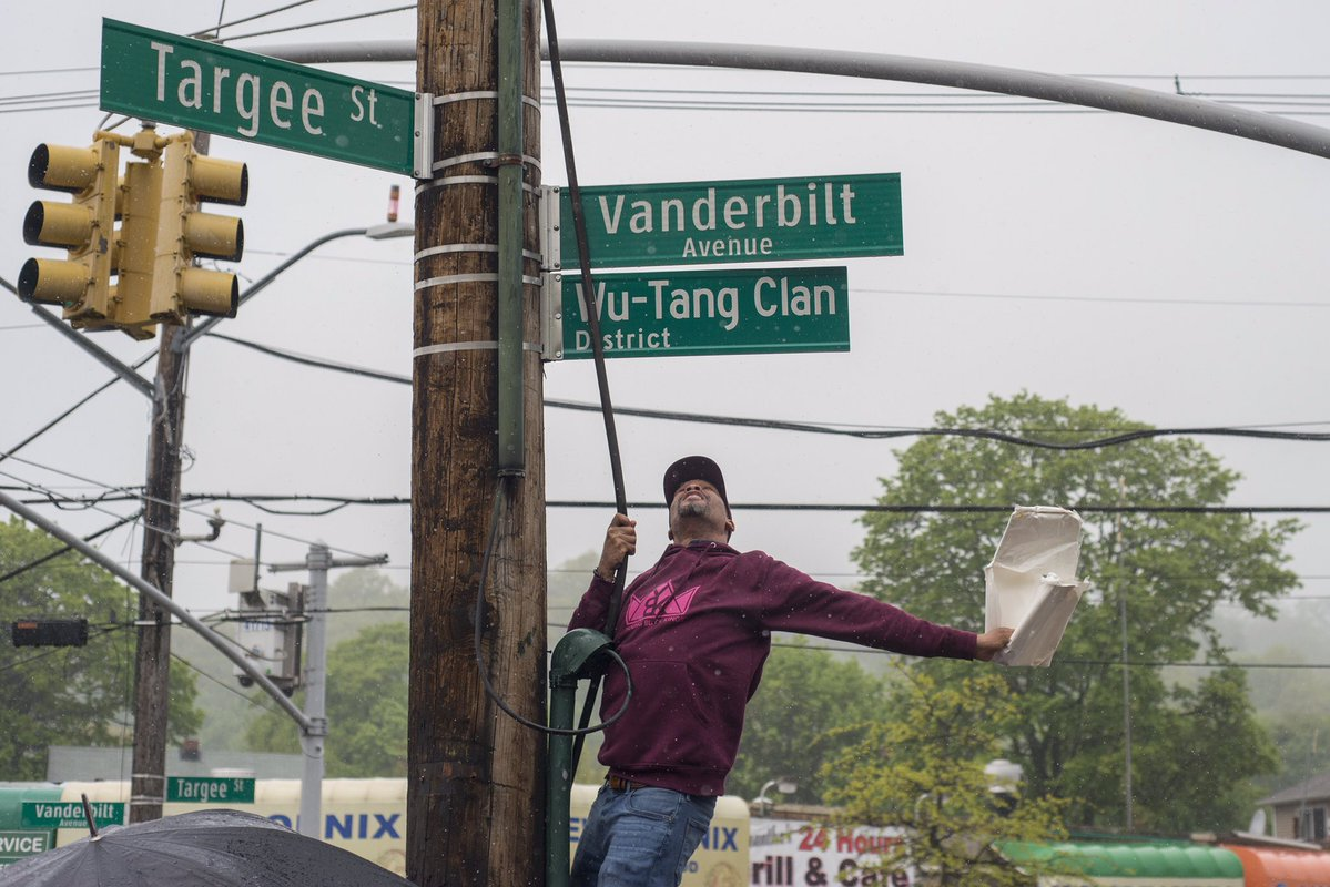 Wu-Tang Clan Honored With Their Own Street Name and Day in Staten Island