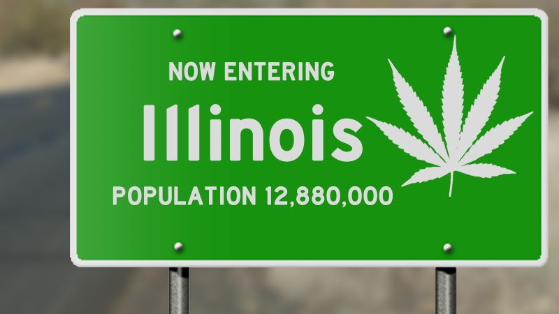 Illinois Becomes the 11th U.S. State to Legalize Recreational Marijuana