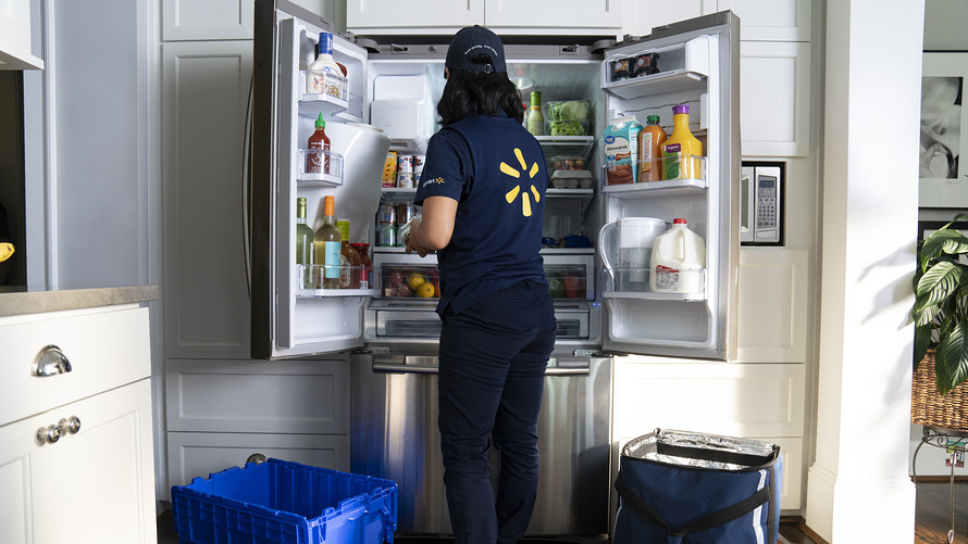 Walmart Planning in-Home Delivery That Will Allow Them to Stock Your Fridge