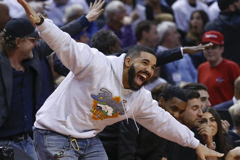"Drake Celebrates Raptors' Championship Win on His Private Plane, ""Air Drake"""