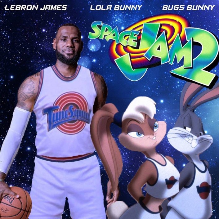 'Space Jam 2' Will Star Klay Thompson, Damian Lillard, AD, & CP3