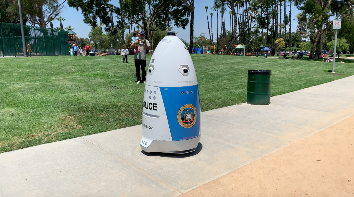Huntington Park, CA Police Department Deploys 'RoboCop' to Aid Officers