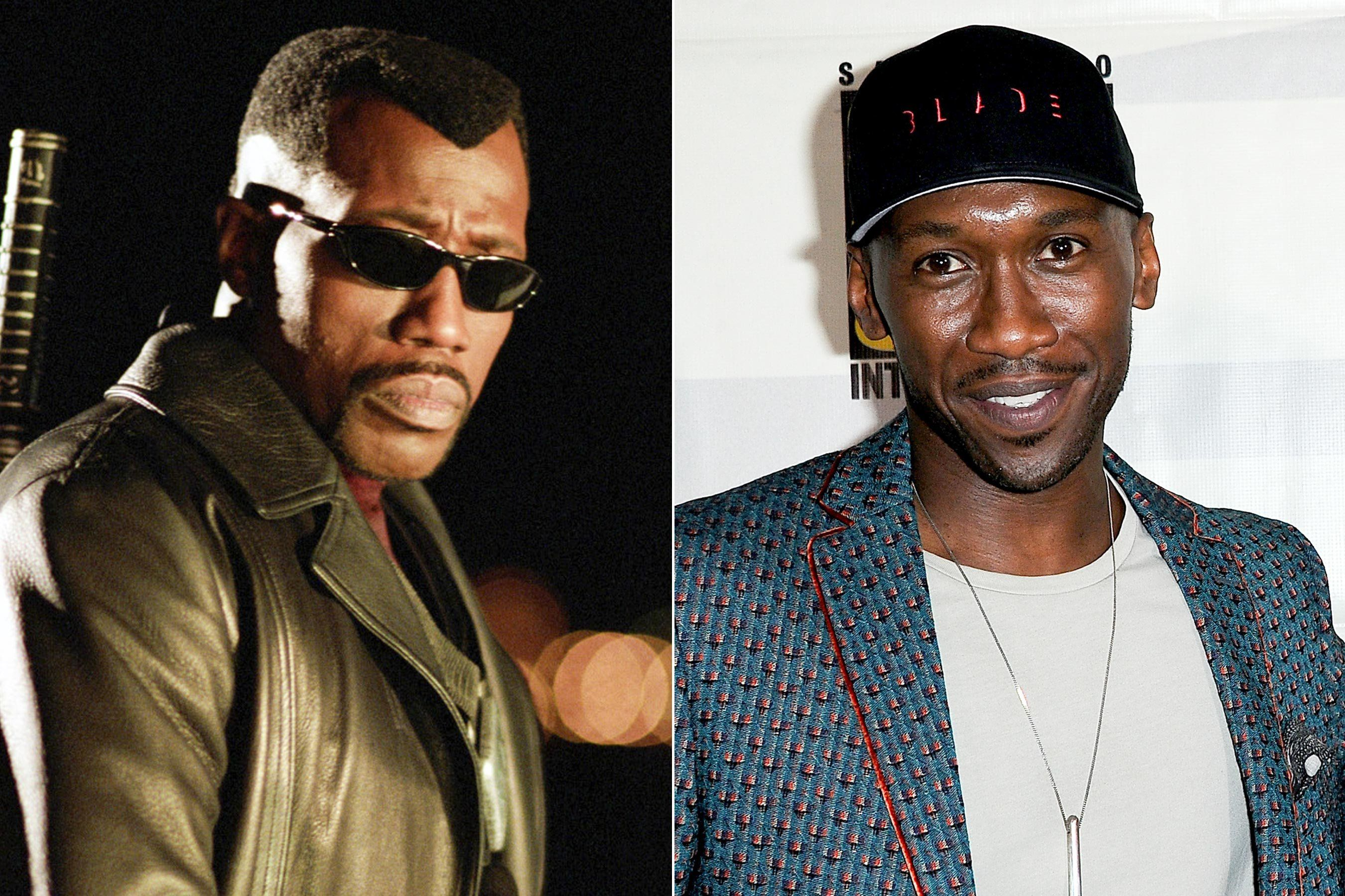 "Wesley Snipes Congratulates Mahershala Ali on Lead Role in ""Blade"""