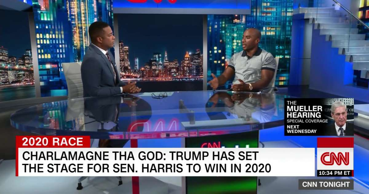 Charlamagne tha God: Trump setting 2020 stage for Harris