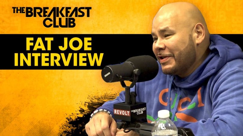 The Breakfast Club Interview Fat Joe: Talks New Music, Squashing 50 Cent & Ja Rule Beef, Bullying, Good Behavior + More