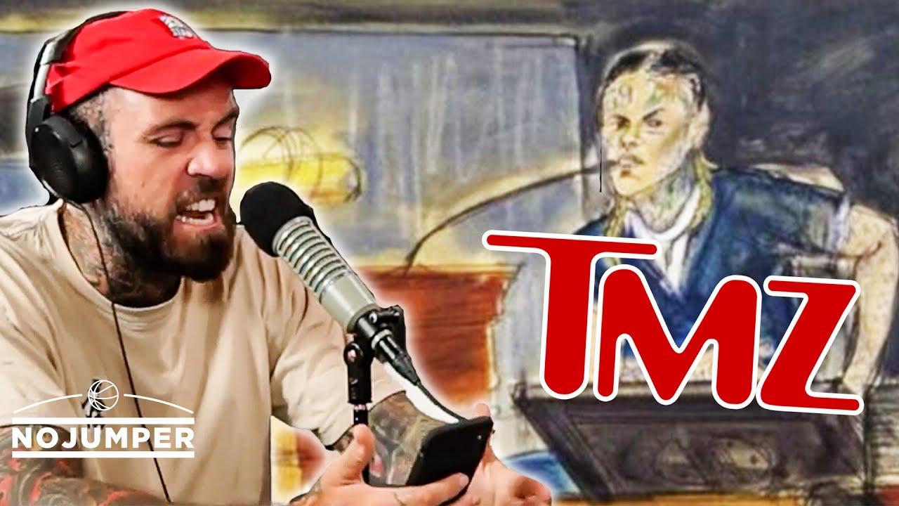 Adam22 RAGES OUT on TMZ regarding 6ix9ine Coverage