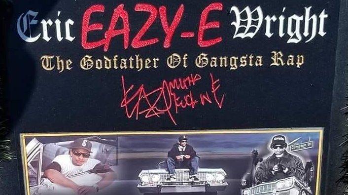 Eazy-E's Family Celebrates His 55th Birthday, Issues New Tombstone