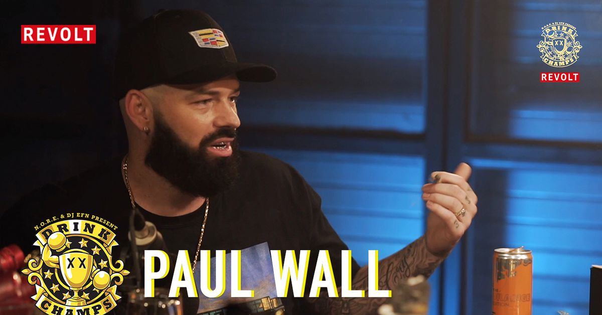 """Noreaga Interviews Paul Wall on """"Drink Champs"""""""
