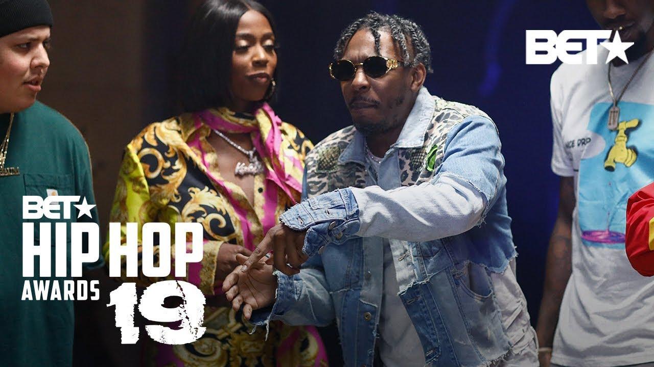 2019 BET Drops Hip Hop Awards Cypher: Features Kash Doll, King Los, Iman Shumpert