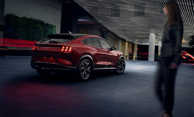 "Ford takes aim at Tesla with the Mach-E ""Mustang"" SUV"