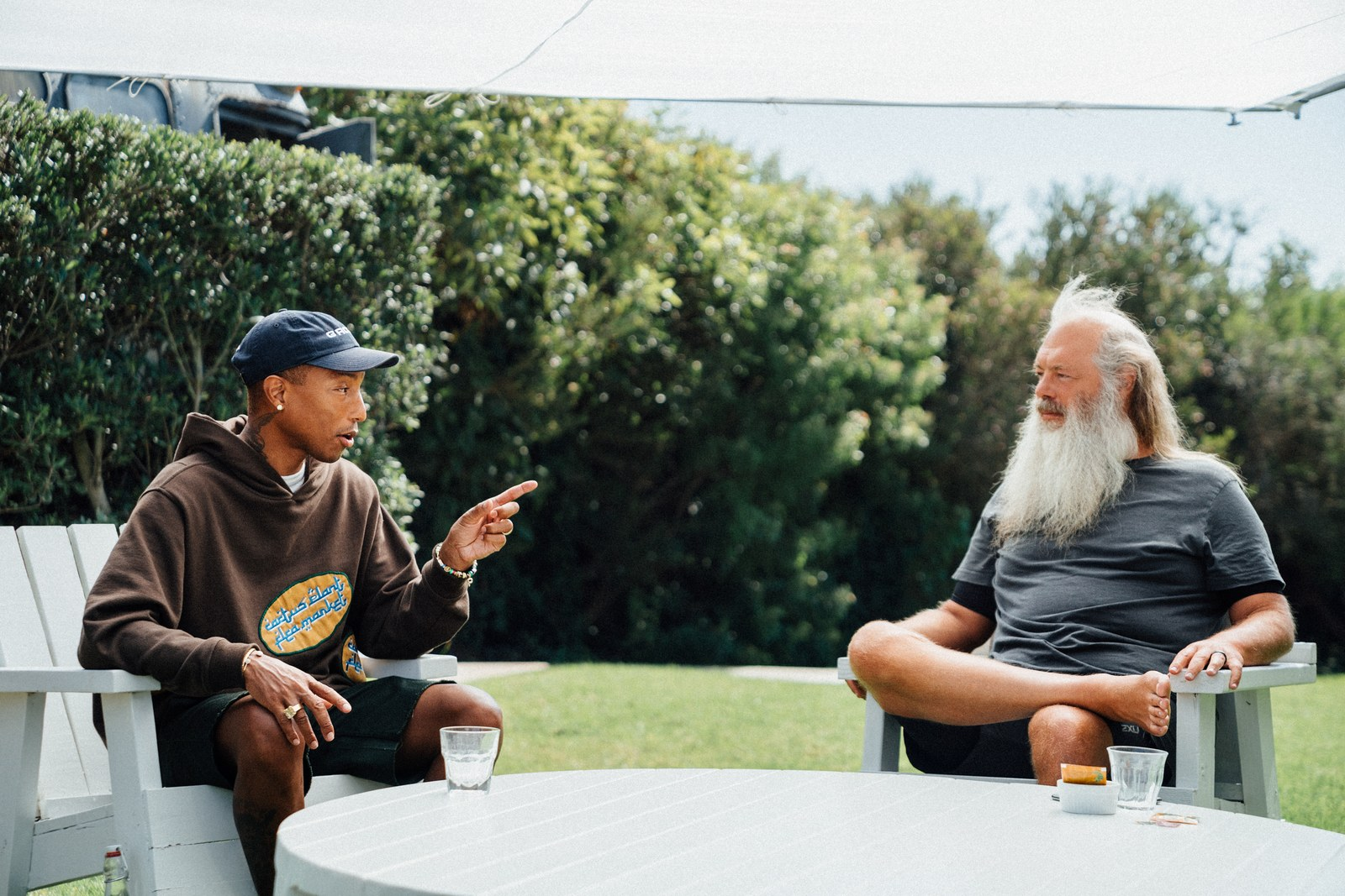 """Pharrell and Rick Rubin discuss """"Blurred Lines"""" lawsuit, Shazam, and more"""