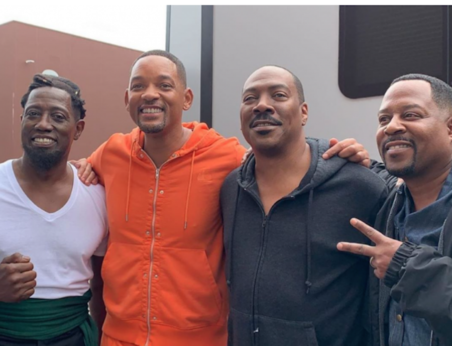 Will Smith Links Up With Eddie Murphy, Martin Lawrence & Wesley Snipes