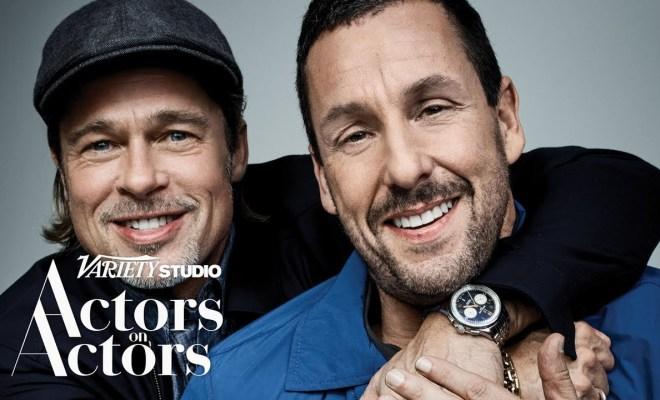 Brad Pitt & Adam Sandler talk Actor on Actors