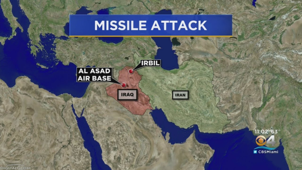 Iran Claims Credit for Missile Attack on U.S. Military Base in Iraq