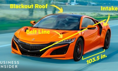 Acura Designer Dissects The Design Of The NSX