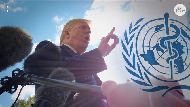 Trump Withdraws the U.S. from the World Health Organization