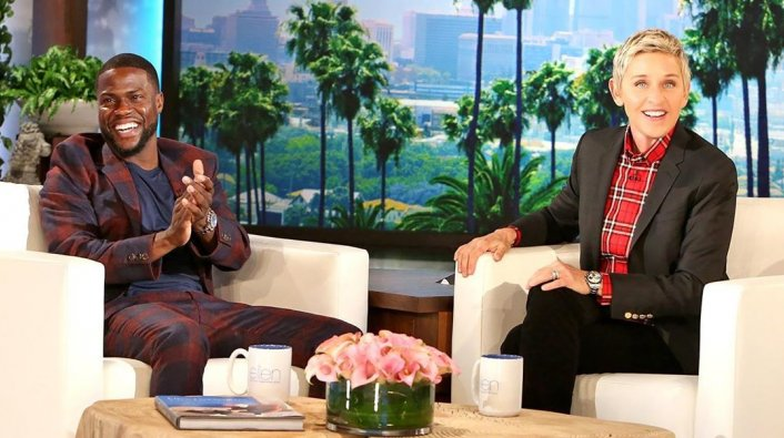 """Kevin Hart Defends Ellen, Calls Her """"One of the Dopest People"""" Amid Allegations"""