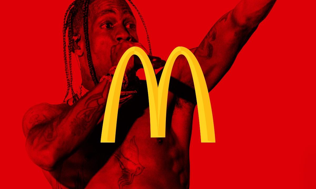 Travis Scott drops McDonald's-themed merchandise, including a $90 chicken nugget pillow