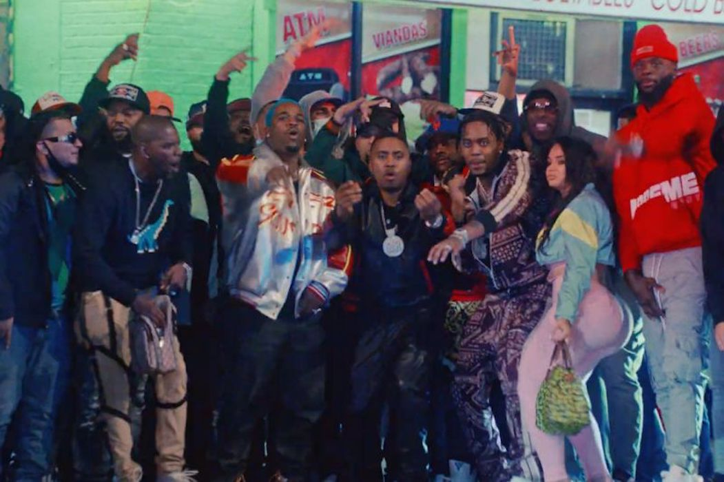 """Nas drops Visuals for """"Spicy"""" feat. Fivio Foreign & A$AP Ferg"""