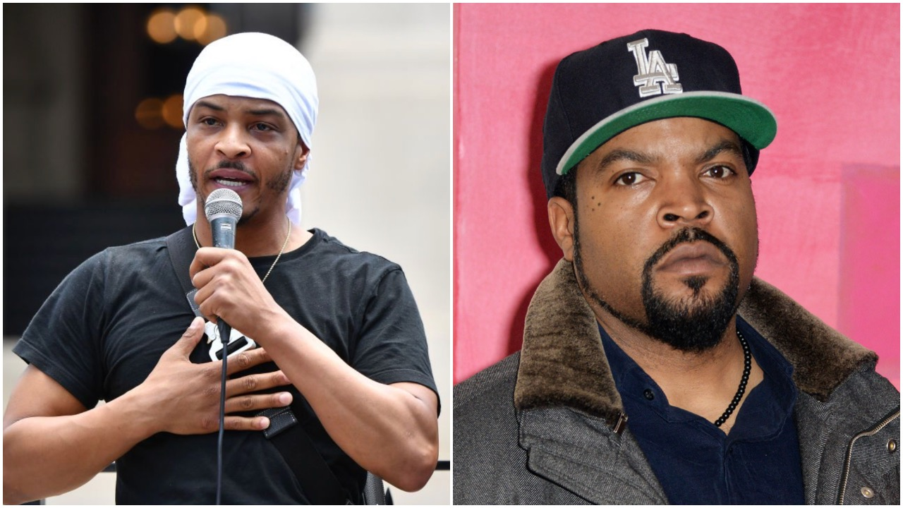 "T.I. Says Give Ice Cube ""Benefit of His Rep"" for Working With Trump Campaign"