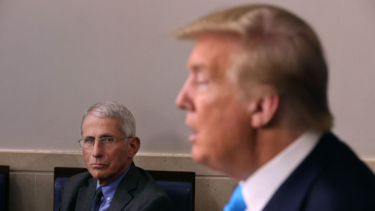 "Dr. Fauci Says He's ""Absolutely Not Surprised"" Trump Contracted COVID-19"