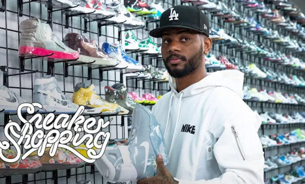 Bryson Tiller Goes Sneaker Shopping With Complex