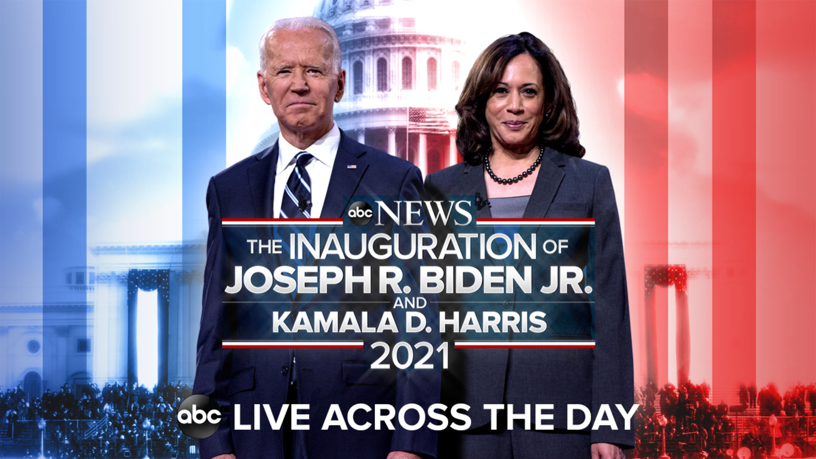 President-elect Biden and VP-elect Harris arrive at Capitol ahead of inauguration: WATCH IT LIVE