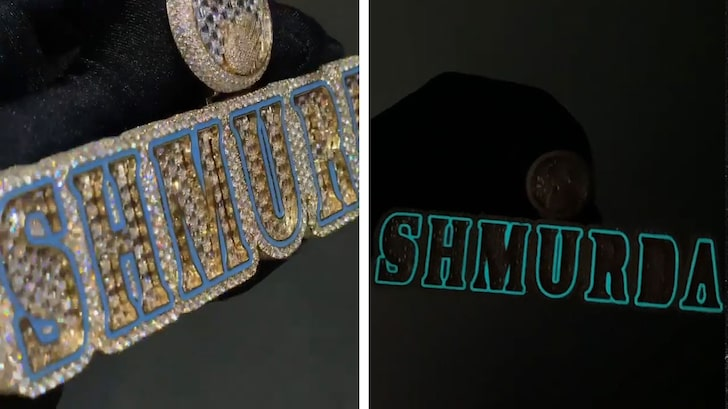 Rowdy Rebel Gifts Bobby Shmurda Glow-In-The-Dark Chain