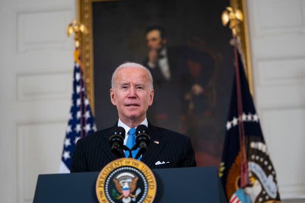 Biden Calls GOP Govs' Decision to End Mask Mandates 'Neanderthal Thinking'