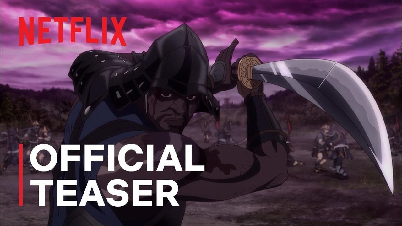 Netflix RElease Trailer for Yasuke