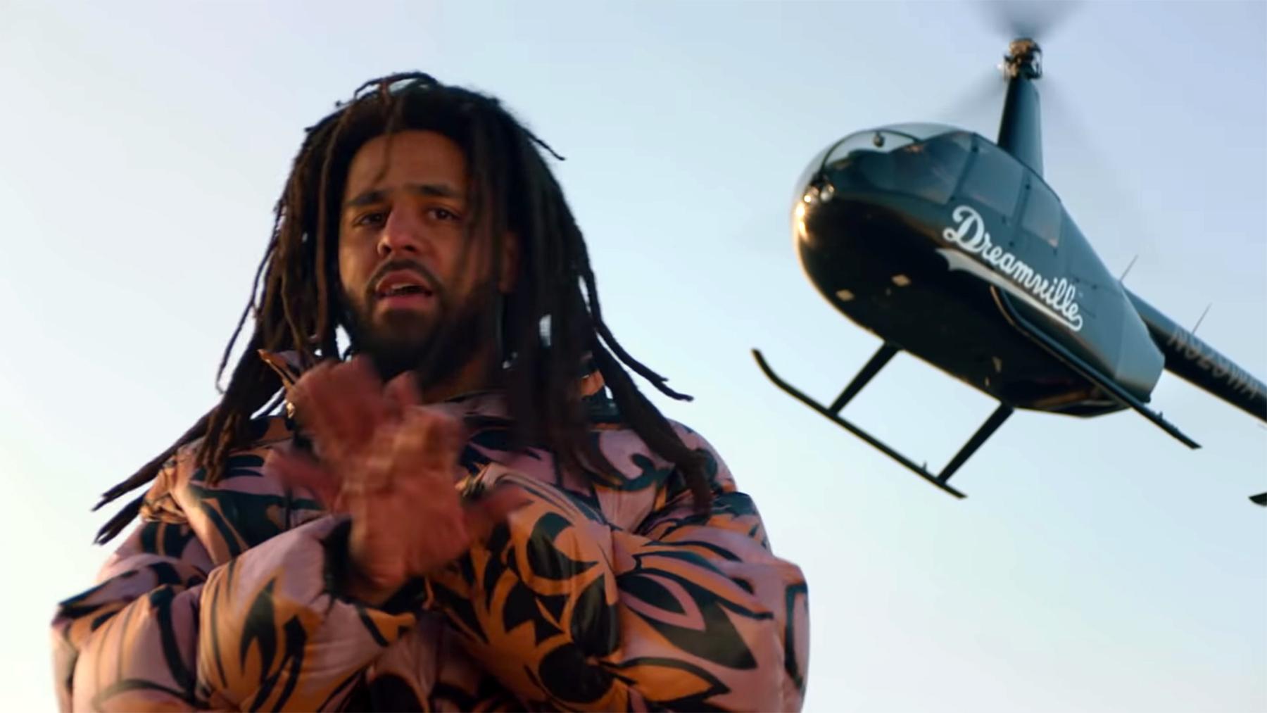 J. Cole drops Visuals for A M a r i