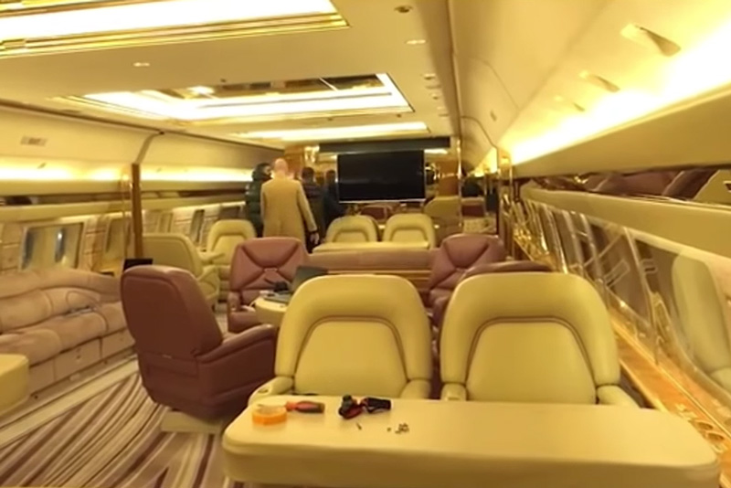 New Footage Surfaces of the Inside of Drake's 'Air Drake' Private Plane