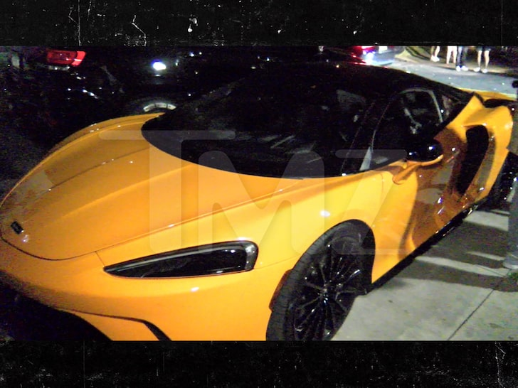 Ray J Gifts Soulja Boy with Yellow McLaren for His 31st Birthday