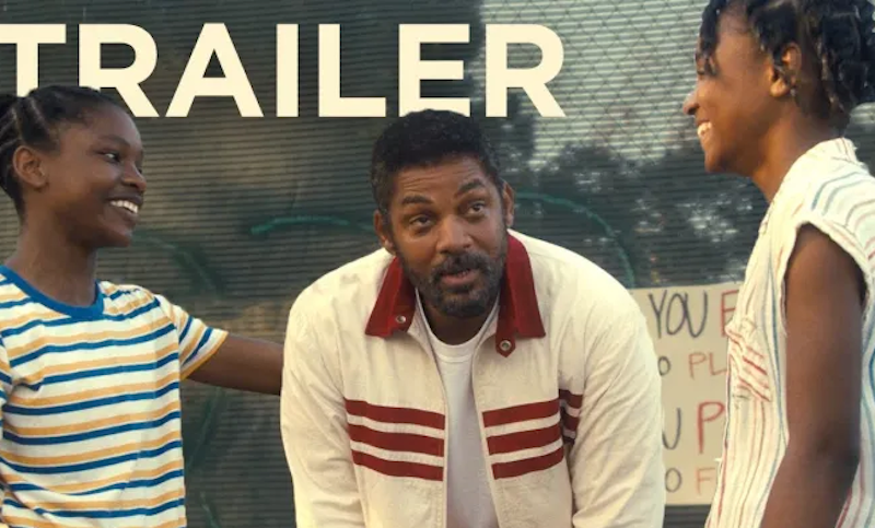 King Richard Official Trailer Released featuring Will Smith
