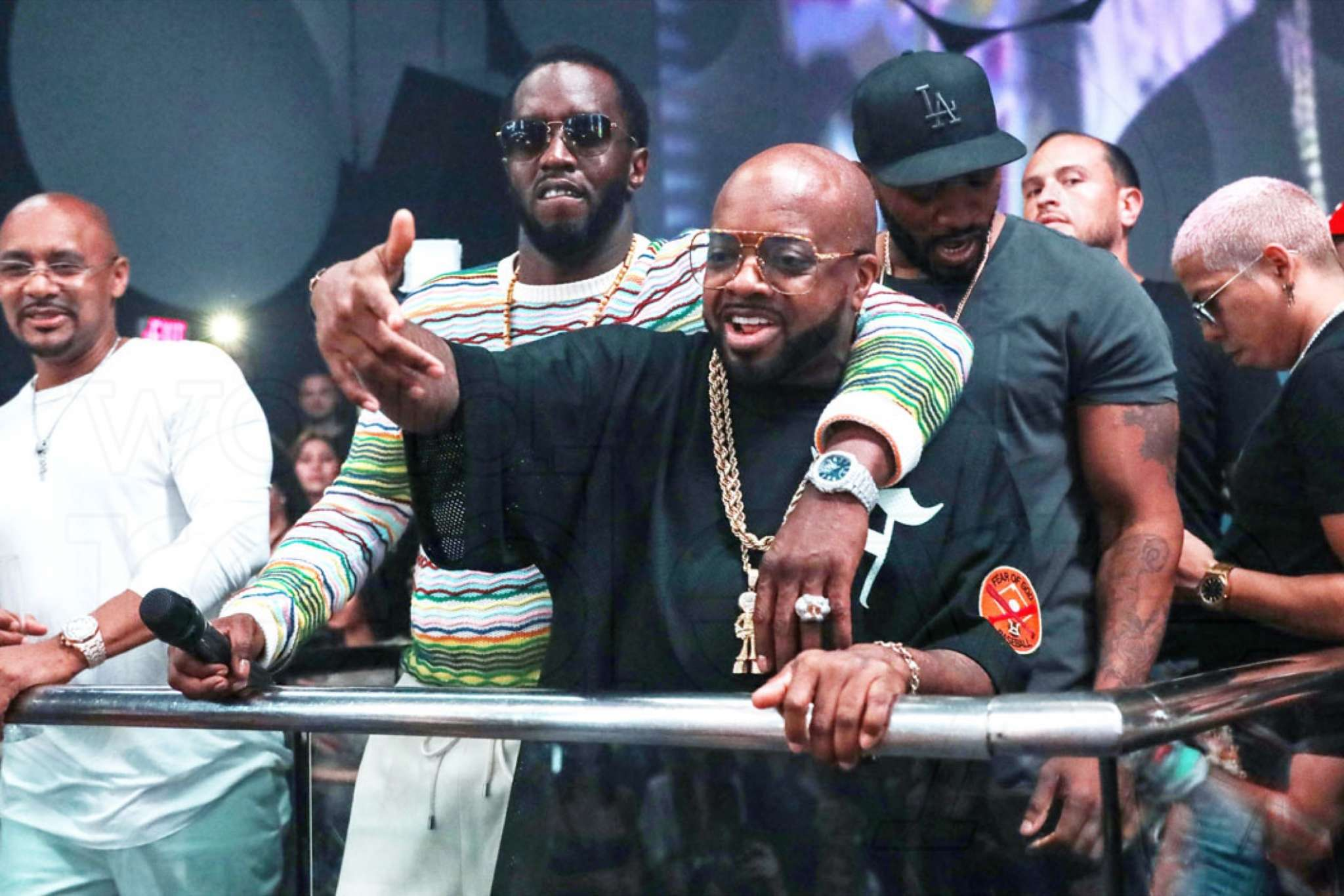 Diddy and Jermaine Dupri Have Heated Exchange While Debating Catalogs