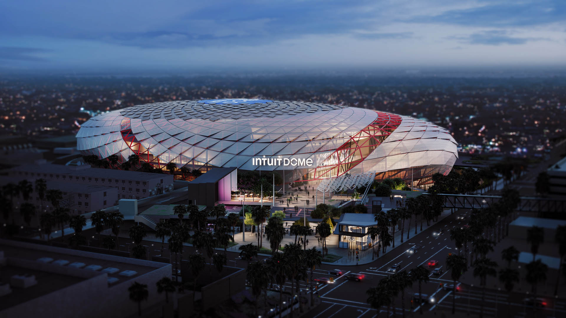 Los Angeles Clippers Unveil Pics of New $1.8B Arena Set to Open in 2024
