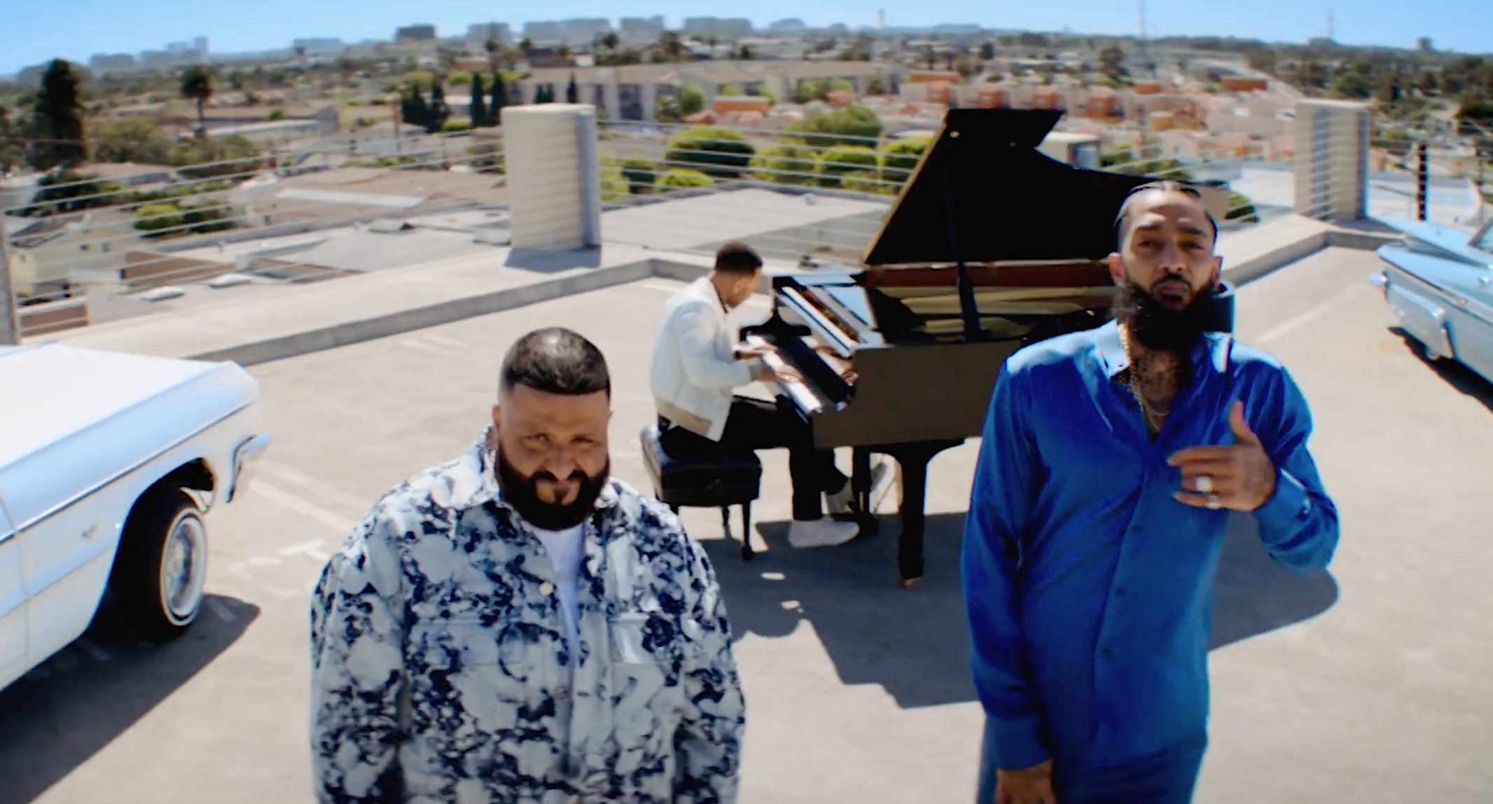"DJ Khaled Drops the Video for ""Higher"" Featuring Nipsey Hussle & John Legend"