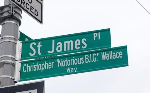 Notorious B.I.G. honored in Brooklyn With The Christopher 'Notorious B.I.G.' Wallace Way Street Naming Ceremony